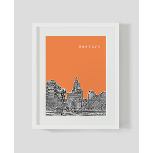 New-york---orange